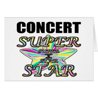Concert Superstar Card