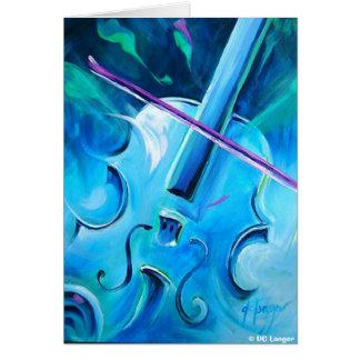 Concerto Invierno Greeting Card