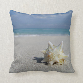 Conch on the Beach: Varadero, Cuba - Pillow