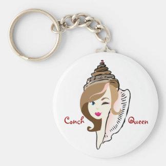 Conch Queen keychain