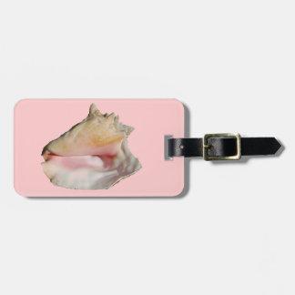 Conch Seashell Bag Tag