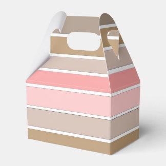 Conch Seashell Colors Favour Box