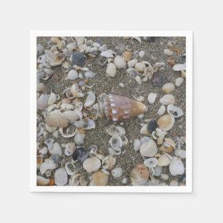 Conch Seashell Treasure Disposable Serviette
