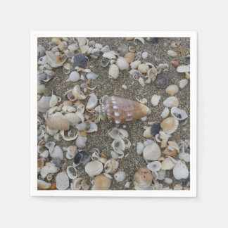 Conch Seashell Treasure Paper Napkin