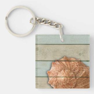 Conch Shell Key Ring