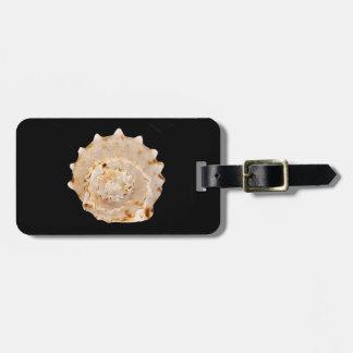 Conch Shell Luggage Tag