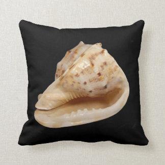 Conch Shell Throw Cushion