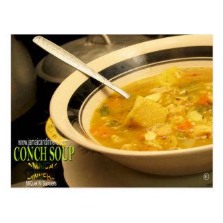 Conch Soup Postcard