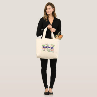 Concierge Cloud Tote Bag
