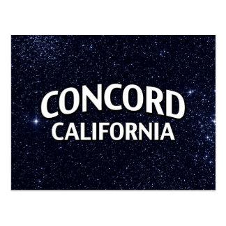 Concord California Postcard