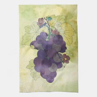 Concord Grapes Tea Towel