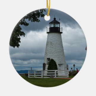 Concord Point Lighthouse Ceramic Ornament