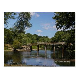 Concord River: Old North Bridge Postcard