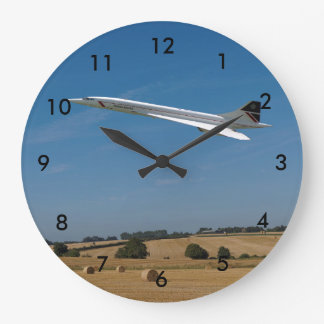 Concorde at Harvest Time Clocks