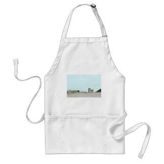 Concrete and sand standard apron