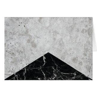 Concrete Arrow Black Granite #844 Card