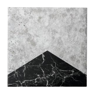 Concrete Arrow Black Granite #844 Ceramic Tile