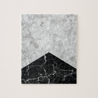 Concrete Arrow Black Granite #844 Jigsaw Puzzle