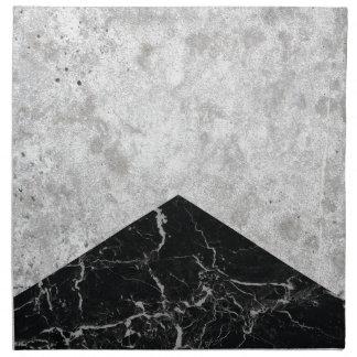 Concrete Arrow Black Granite #844 Napkin