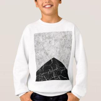 Concrete Arrow Black Granite #844 Sweatshirt