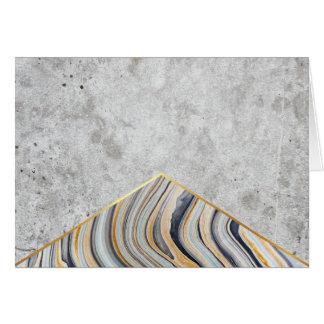 Concrete Arrow Blue Marble #177 Card
