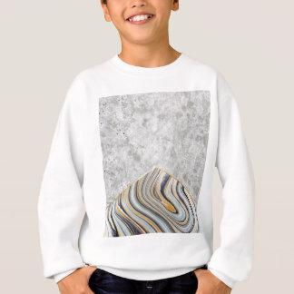 Concrete Arrow Blue Marble #177 Sweatshirt