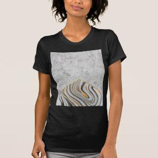 Concrete Arrow Blue Marble #177 T-Shirt