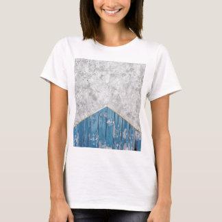 Concrete Arrow Blue Wood #347 T-Shirt