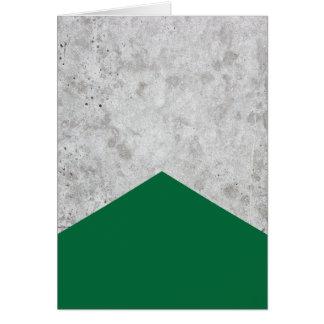 Concrete Arrow Forest Green #326 Card