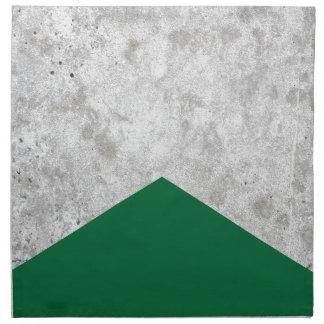 Concrete Arrow Forest Green #326 Napkin