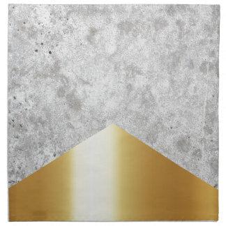Concrete Arrow Gold #372 Napkin