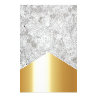 Concrete Arrow Gold #372 Stationery