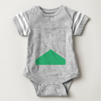 Concrete Arrow Green #175 Baby Bodysuit