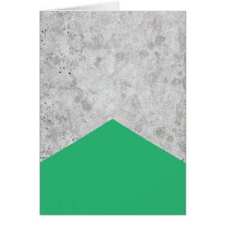 Concrete Arrow Green #175 Card
