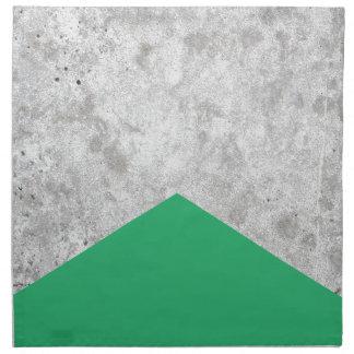 Concrete Arrow Green #175 Napkin