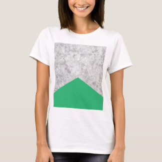 Concrete Arrow Green #175 T-Shirt