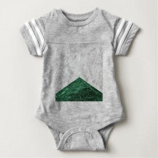 Concrete Arrow Green Granite #412 Baby Bodysuit