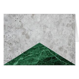 Concrete Arrow Green Granite #412 Card