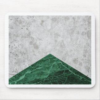 Concrete Arrow Green Granite #412 Mouse Pad