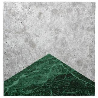 Concrete Arrow Green Granite #412 Napkin