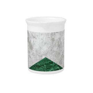 Concrete Arrow Green Granite #412 Pitcher