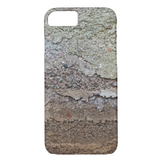 Concrete foundation of an old house iPhone 7 case