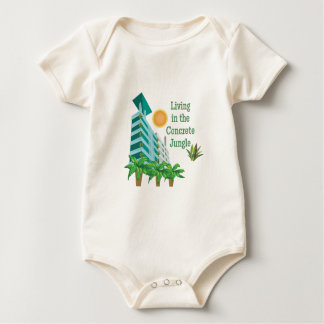 Concrete Jungle Baby Bodysuit