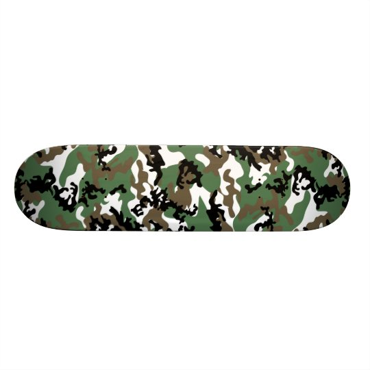 Concrete Jungle Camo Skateboard