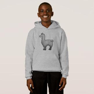 Concrete Llama Hoodie