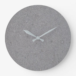 Concrete Look Round (Large) Wall Clock
