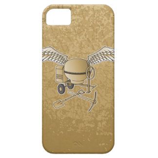 Concrete mixer beige iPhone 5 covers