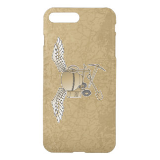 Concrete mixer beige iPhone 7 plus case