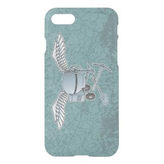 Concrete mixer blue-gray iPhone 7 case