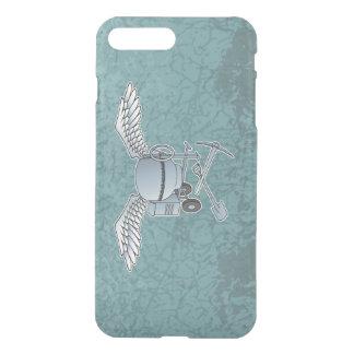 Concrete mixer blue-gray iPhone 7 plus case